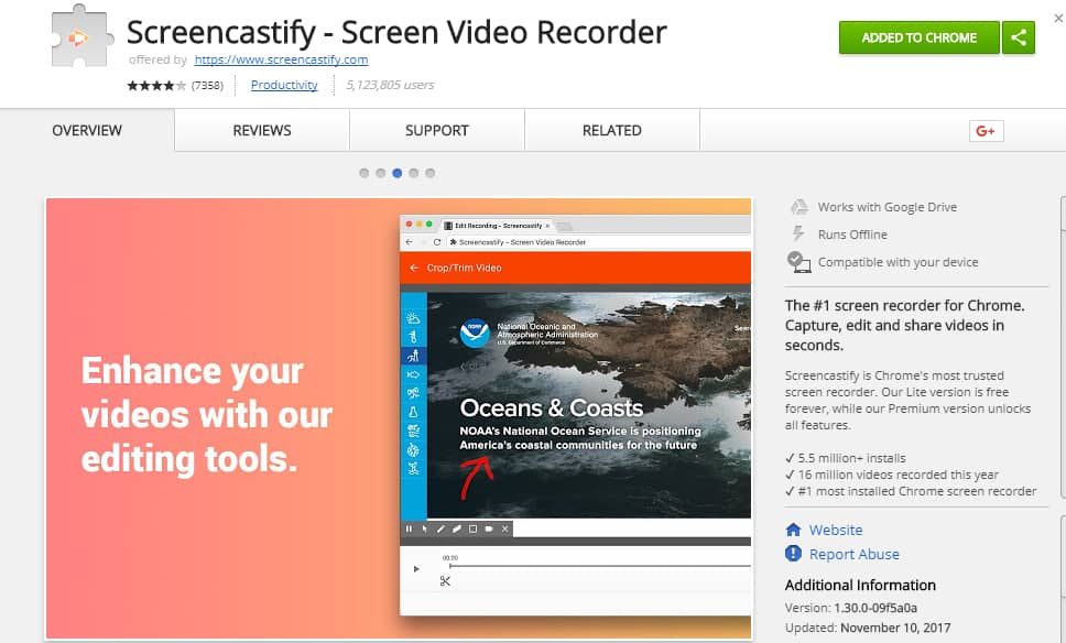 Using ScreenCastify