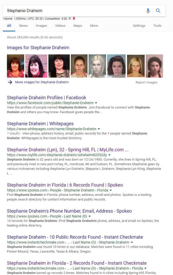 Stephanie Draheim Google Search