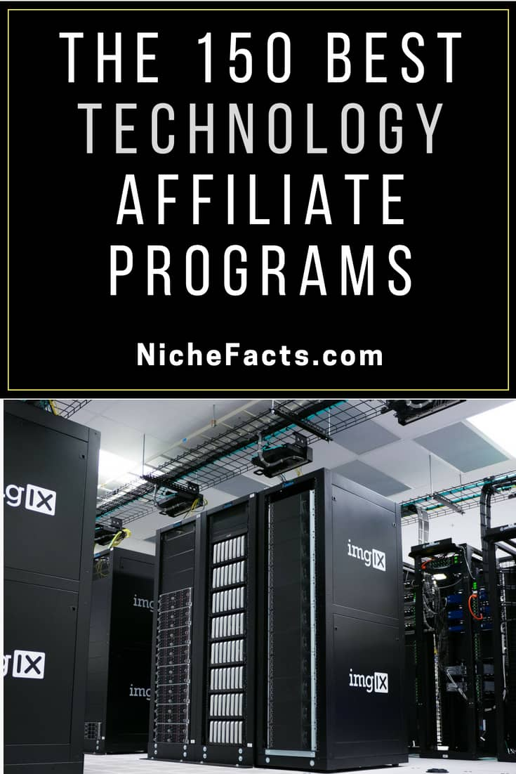 electronics and technology affiliate programs