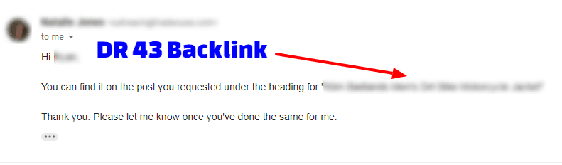dr 43 backlink