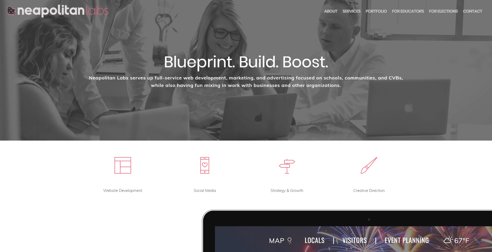 Neapolitan-Labs-Building-Websites-Salient Theme Review