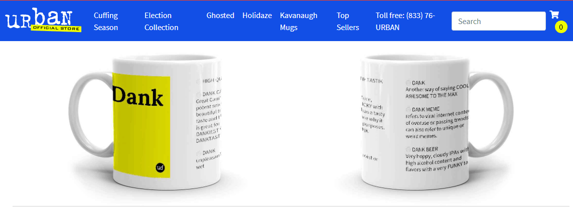 Dank Mug - Urban Dictionary