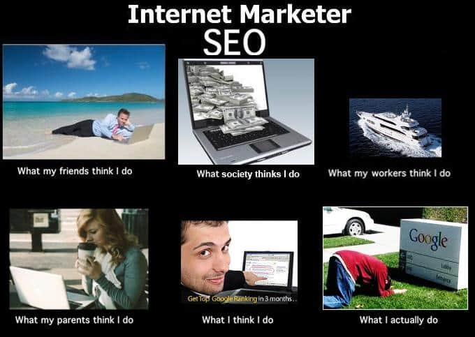internet marketer seo meme