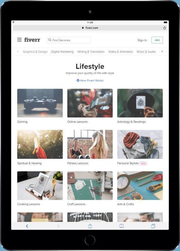 Personal Lifestyle Services Online - Fiverr