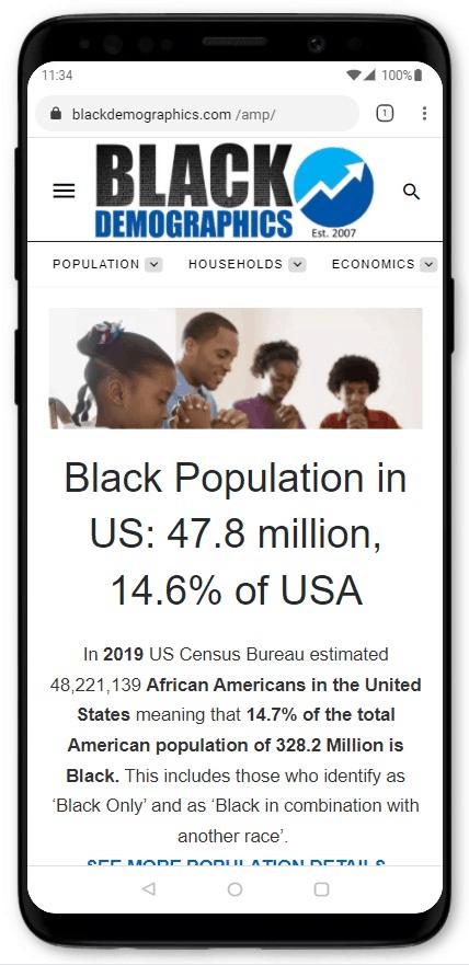 Black Population in US - BlackDemographics.com